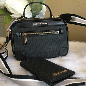 Michael Kors Crossbody Bag & passport case /wallet